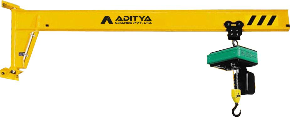 Jib Cranes Suppliers : Wall mounted jib crane supplier
